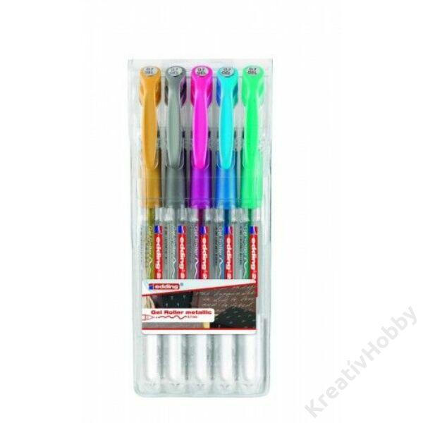 EDDING zseléstoll készlet Metál színek - 5 db-os