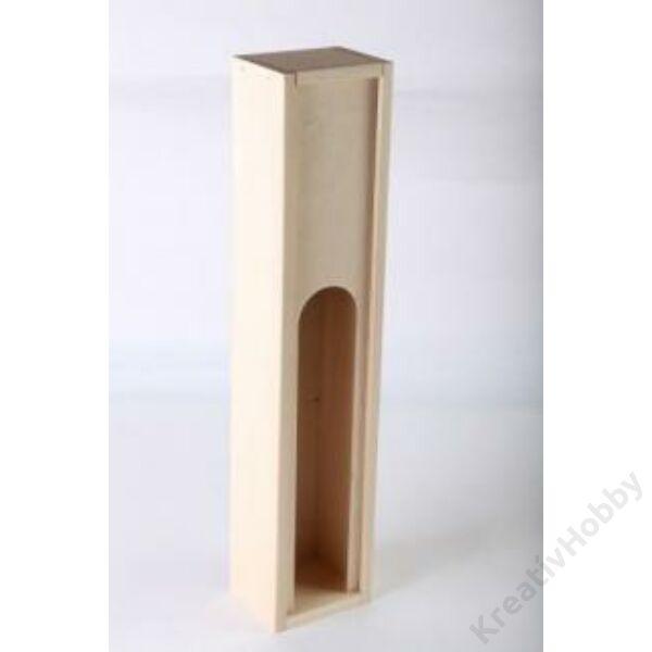 Egypalackos tolótetős doboz 1/2 literes üveghez