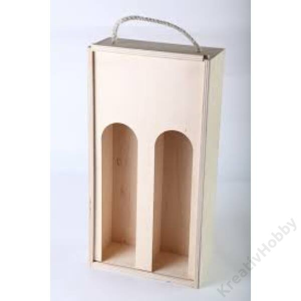Kétpalackos tolótetős doboz 1/2 lit.