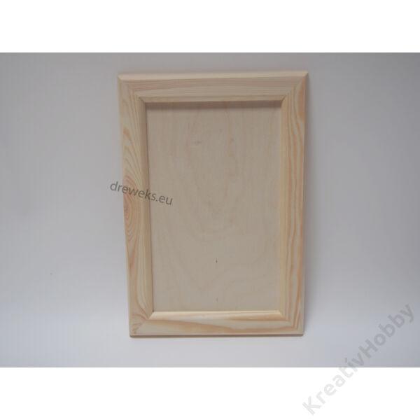 Képkeret, tégla, 44x32 cm