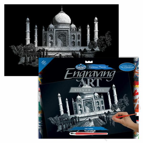 Karckép, ezüst, 286x390,5mm - Taj Mahal