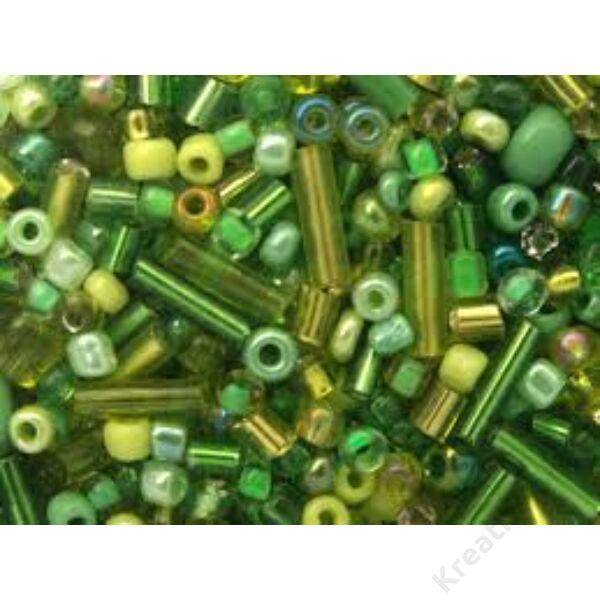 Gyöngy-mix Zöld 250 g/doboz