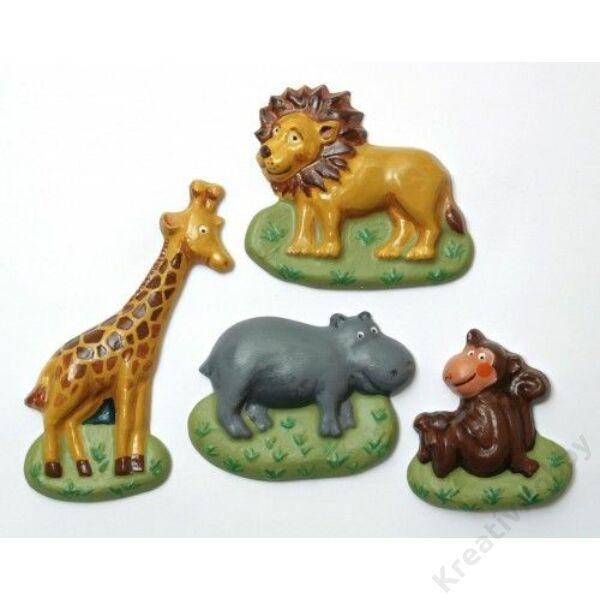 Gipszkiöntő - Szafari állatok