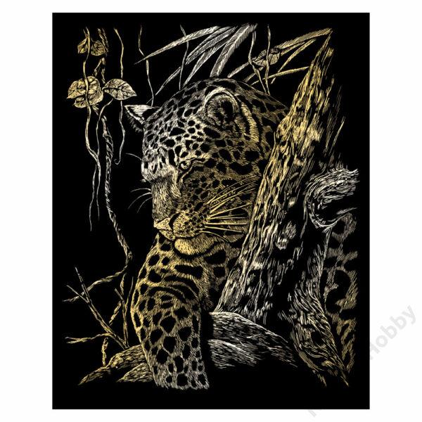 Karckép, arany - Leopárd