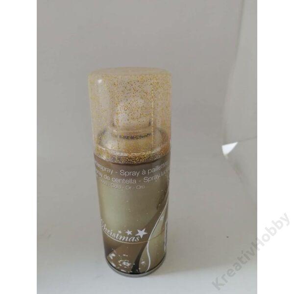 Spray glitteres,arany 15ml