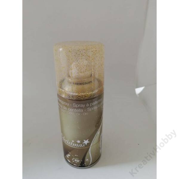 Spray glitteres,arany 15ml