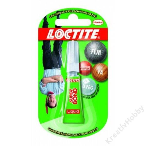 Ragasztó Loctite Super Bond 3g