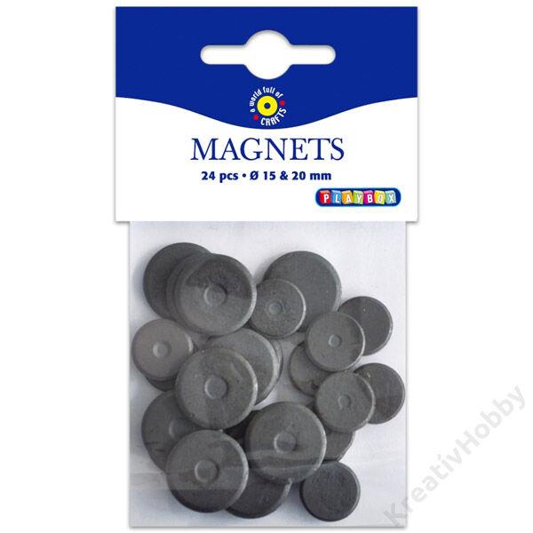 Mágneskorong 15 és 20 mm