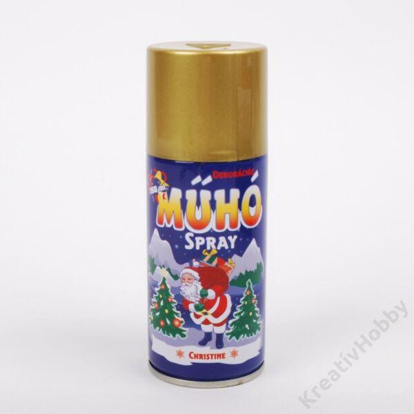 Műhó spray ,arany