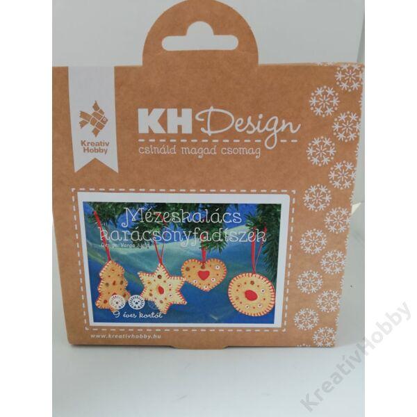 Mézeskalács karácsonyfadíszek 6-9cm 4db/cs