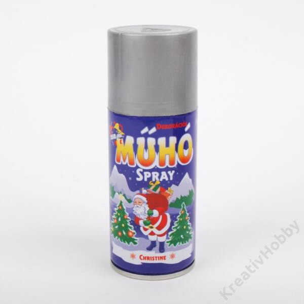 Műhó spray,ezüst 150ml