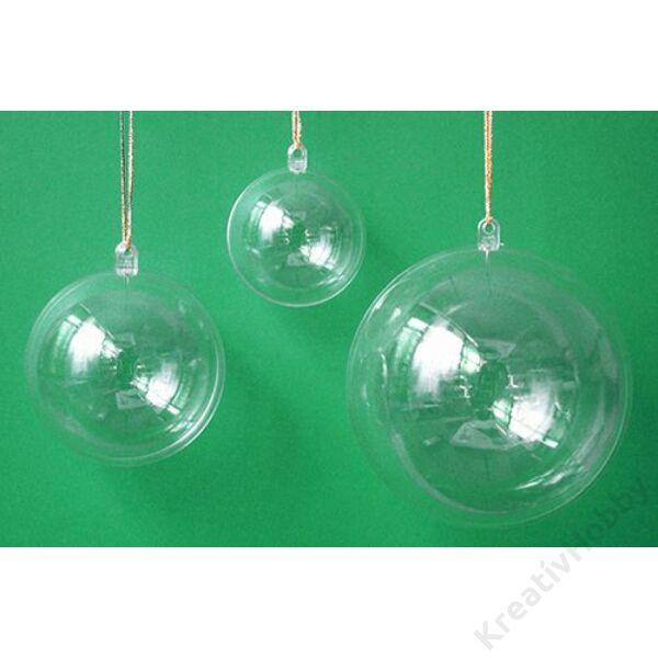 Műanyag gömb, 4cm