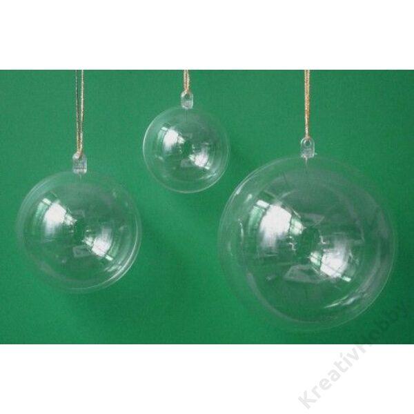 Műanyag gömb 8 cm