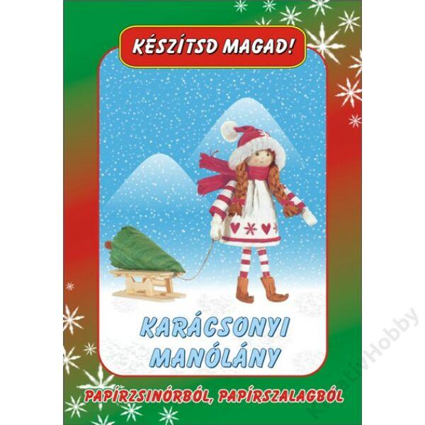 Papírfigurák Karácsonyi manólány
