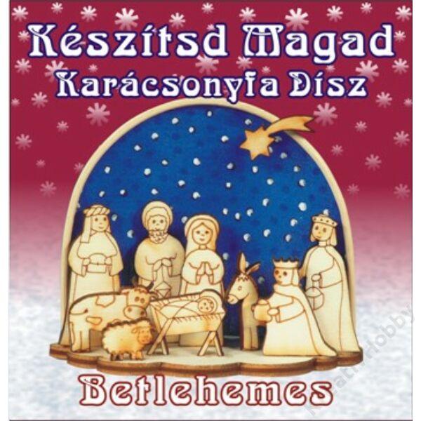 Készítsd magad karácsonyfa dísz ,Betlehem
