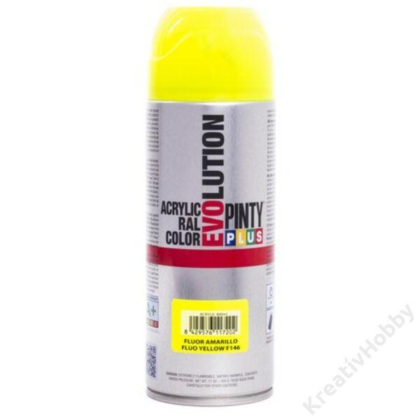 EVO akril spray F146 FLUOR.SÁRGA 400ml