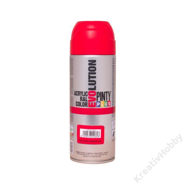 EVO akryl spray 400ml METÁL PIROS
