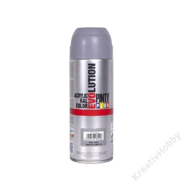EVO akryl spray 400ml METÁL SZÜRKE