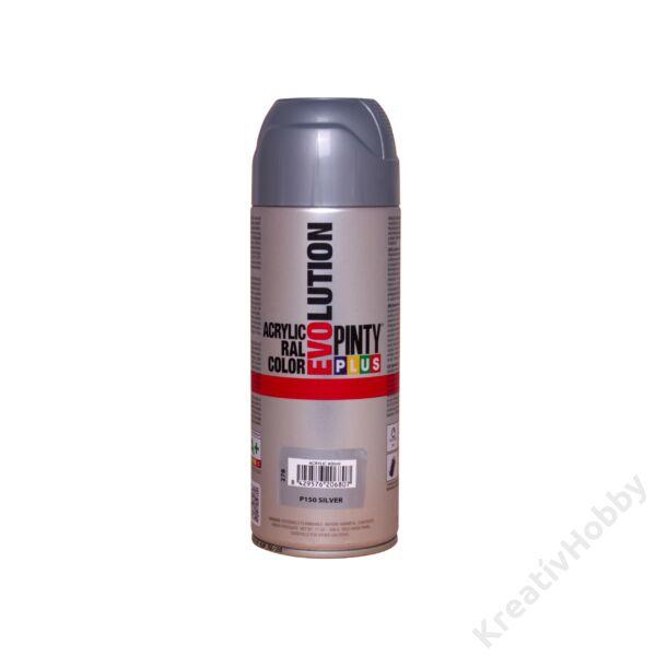 EVO akryl spray 400ml METÁL EZÜST