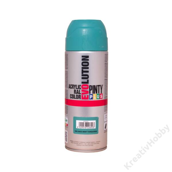EVO akril spray RAL6033 TÜRKIZKÉK 200ml