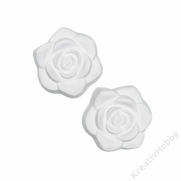 Beton öntőforma - Rózsák, 2 db/cs, 8 cm