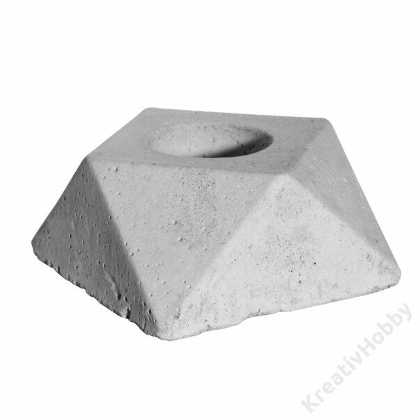 Beton öntőforma - Gyémánt, 2db/cs