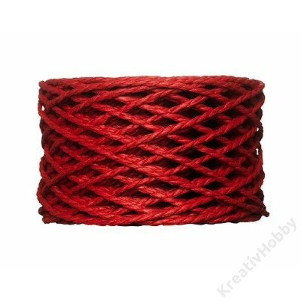 Papírzsinór, 2mm, piros