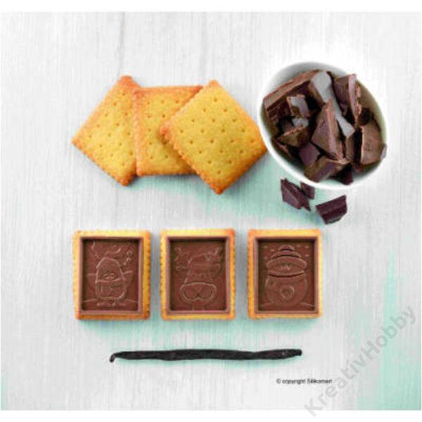 Csokikeksz készítő szett