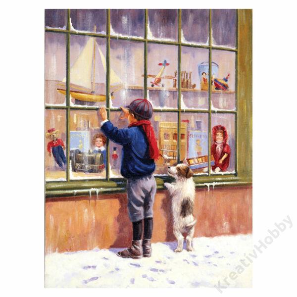 Számozott kifestő - Karácsonyi álmok