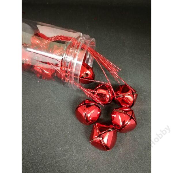 Csengettyűk dobozban 2cm, piros 15db/cs
