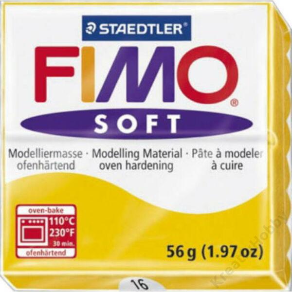 FIMO Soft süthető gyurma - Citromsárga