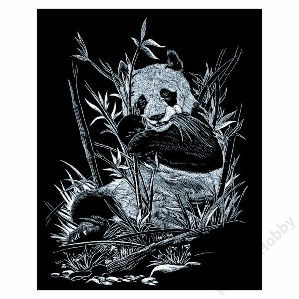 Karckép, ezüst - Panda