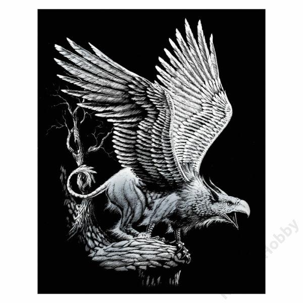 Karckép, ezüst - Griffin