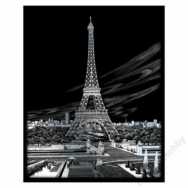 Karckép, ezüst - Eiffel torony