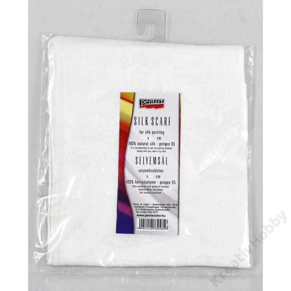 Selyemkendő, pongee 5, 55x55 cm