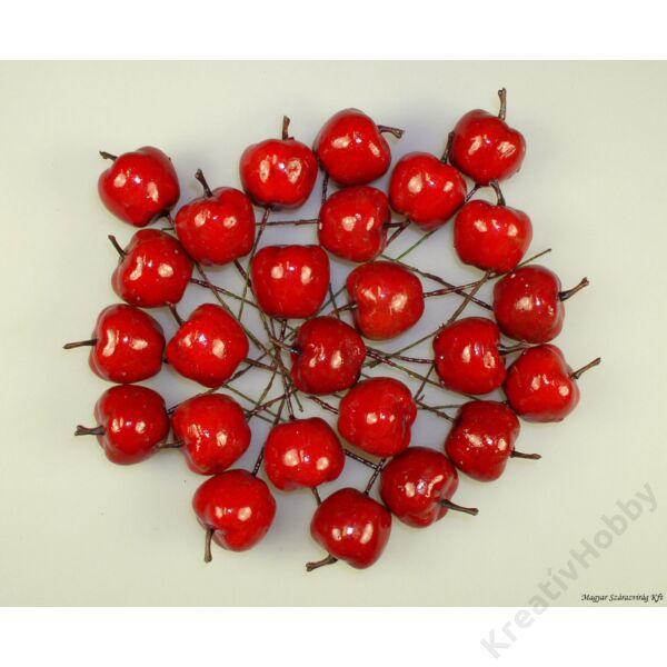 Betűző piros alma 2,5cm 6db/cs