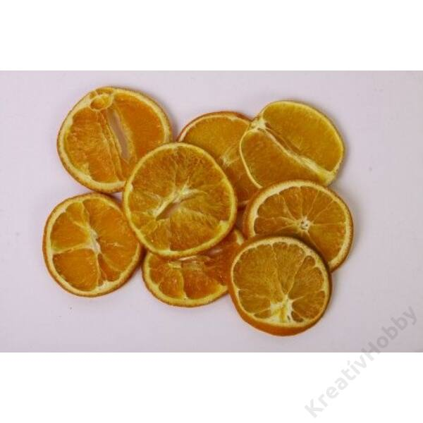Szárított narancsszelet, 10g/cs