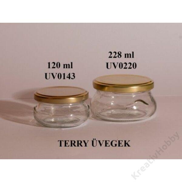 Üveg, TERRY 120ml