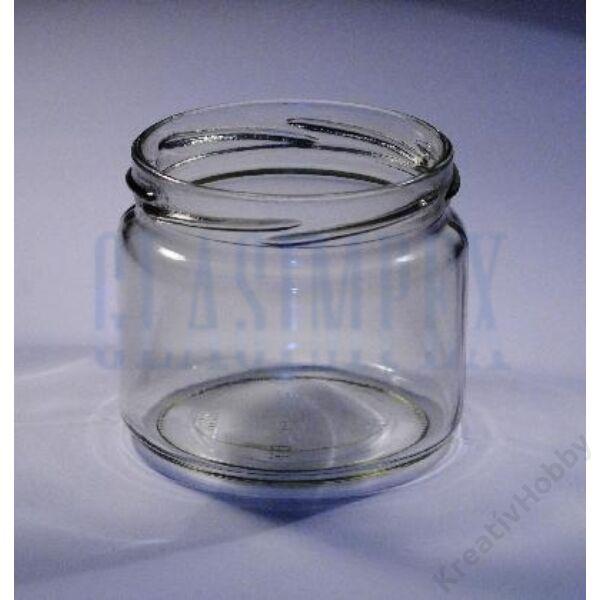 Üveg, KONZERVES 106ml