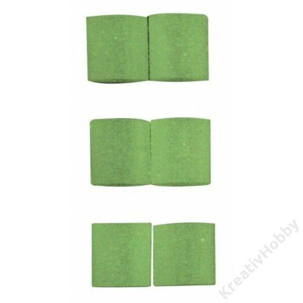 Vasalható gyöngy VILÁGÍTÓS zöld