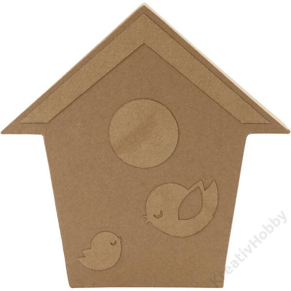 Papírmasé figura - Madárház