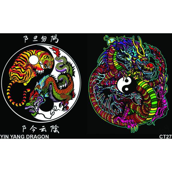Colorvelvet gumis mappa/Tao dragon
