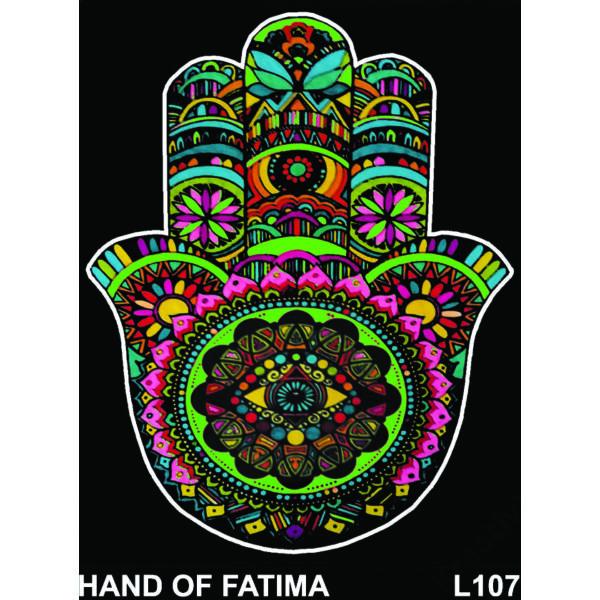 Colorvelvet bársonykép 47x35 cm/Hand of Fatima