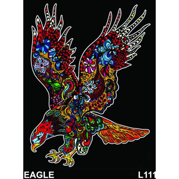 Colorvelvet bársonykép 47x35 cm/Eagle