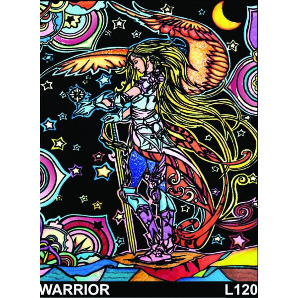 Colorvelvet bársonykép 47x35 cm/Warrior