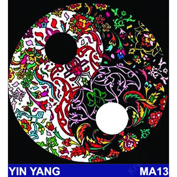 Colorvelvet bársonykép 32x32 cm/Yin yang
