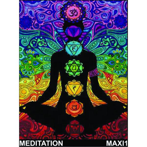 Colorvelvet bársonykép 50x70 cm/Meditation