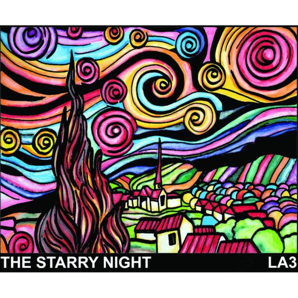 Colorvelvet bársonykép 50x70 cm/The starry night
