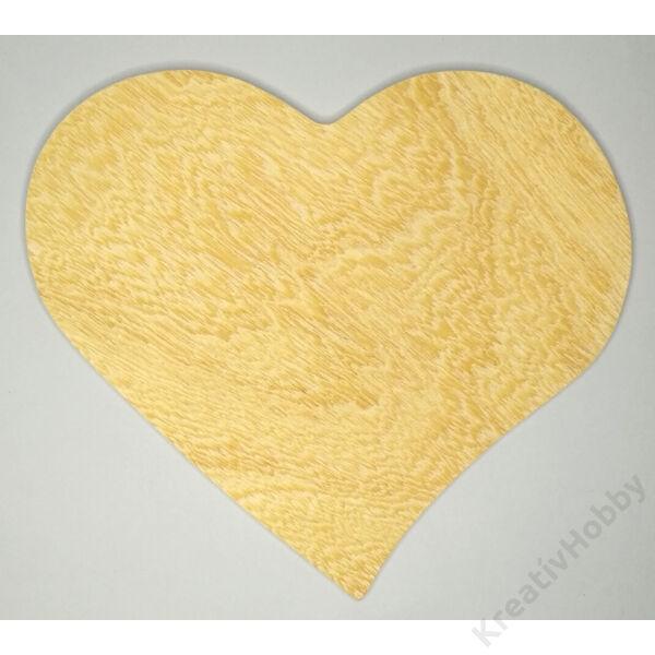 Falap szívforrma,kicsi 22x23,5cm