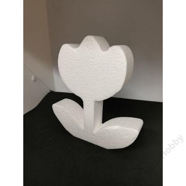 Hungarocell figura, lapos VIRÁG 20x18x4cm